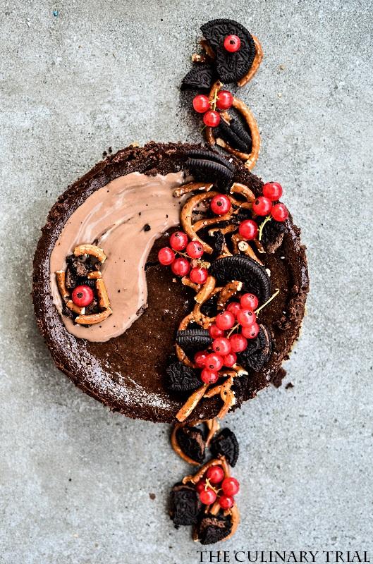 Nutellacheesecake mit Brezel-Keks-Boden-2