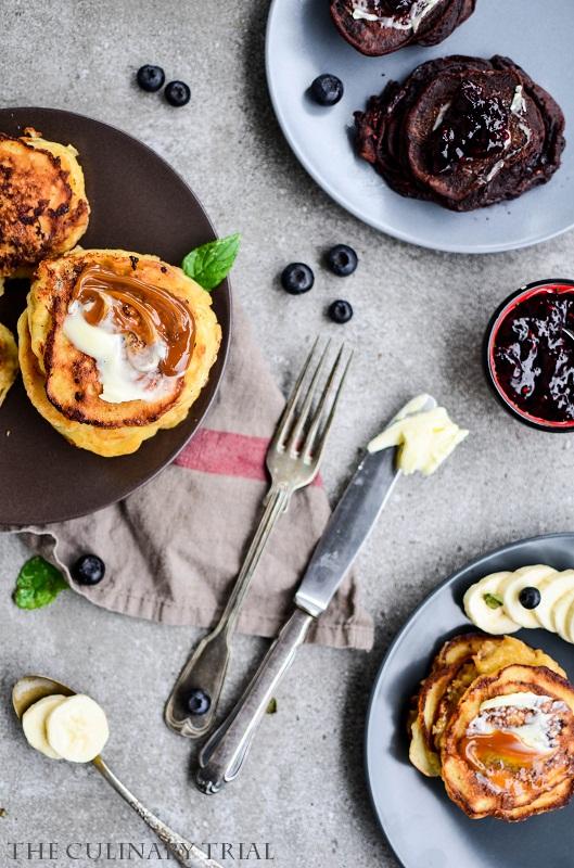 Bananenpancakes mit Salzbutter und Karamellcreme2-2