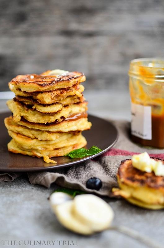 Bananenpancakes mit Salzbutter und Karamellcreme3-2
